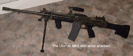 Ultimax 100轻机枪的型号/结构特点 ——〖枪炮世界〗