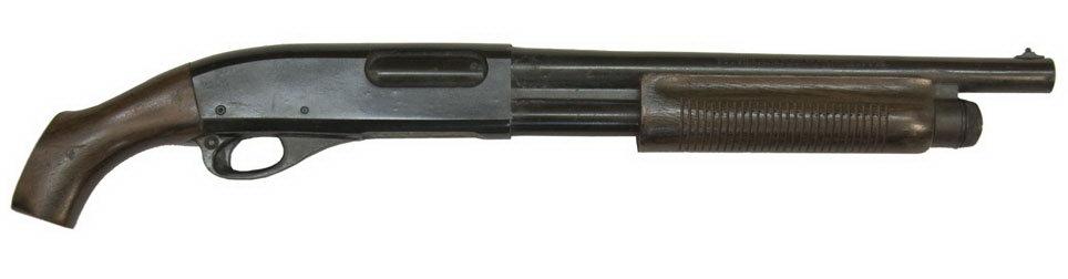 Sawed off shotguns