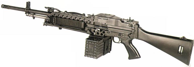 m249轻机枪_斯通纳63/63A轻机枪 ——〖枪炮世界〗